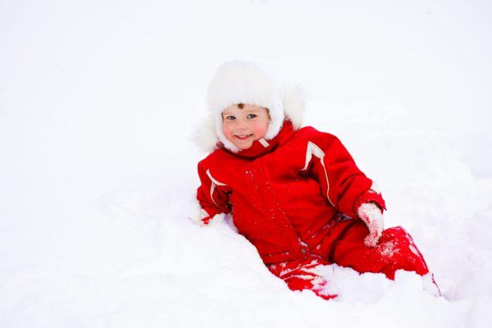 Как одеть ребенка по погоде зимой? фото