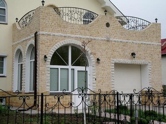 Как сэкономить на отделке фасада загородного дома? фото