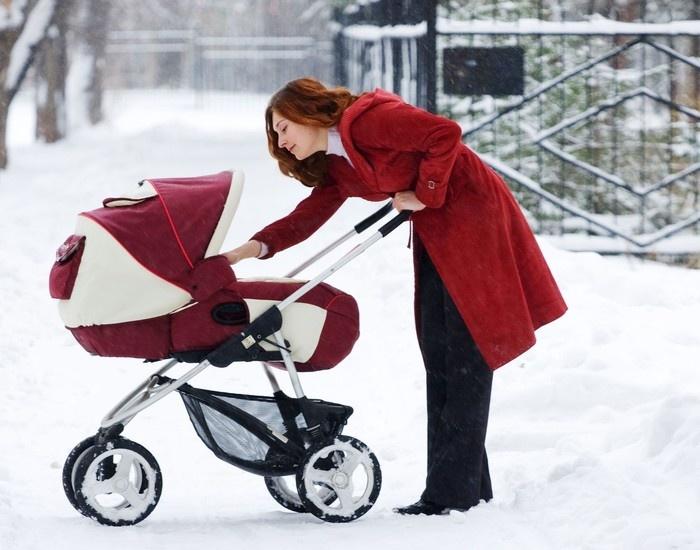 Как выбрать коляску для зимы? 7 вещей на которые стоит обратить внимание фото
