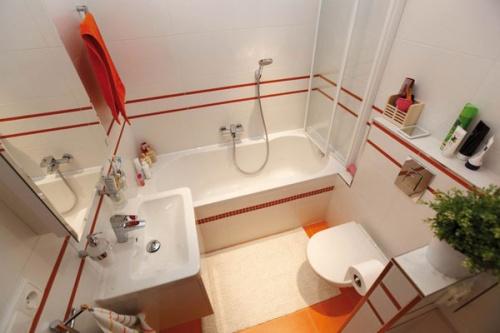 Как обустроить ванную комнату маленьких размеров?   фото