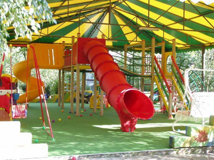 Как спланировать детскую площадку? фото
