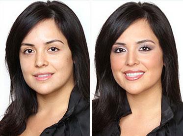Как косметикой сделать нос меньше? фото