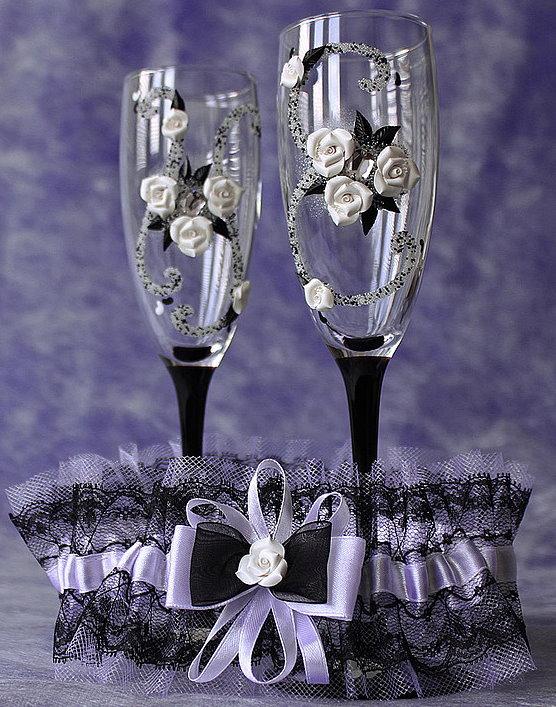 Какие бокалы разбивают на свадьбе? фото