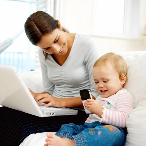 Как молодой маме начать зарабатывать деньги? фото