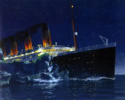 Почему затонул Титаник? фото