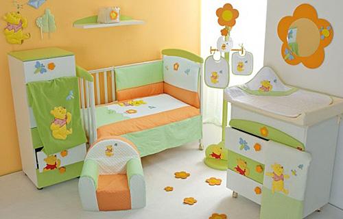 Как обустроить комнату для новорожденного? фото
