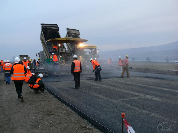 Что такое строительство дорог? фото