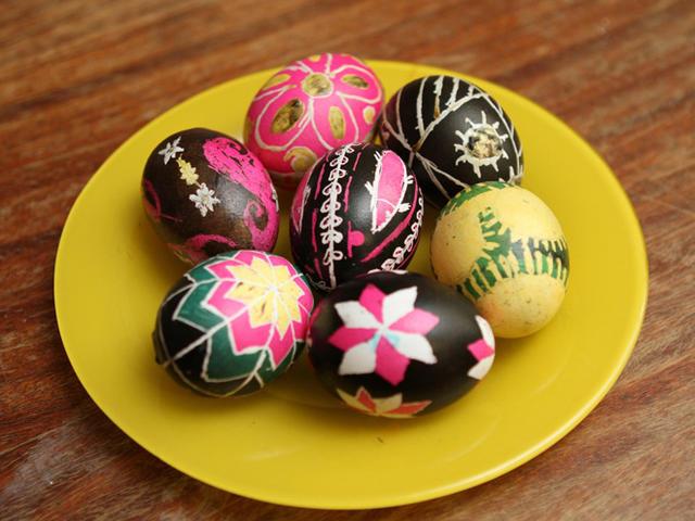 Как красить яйца? фото