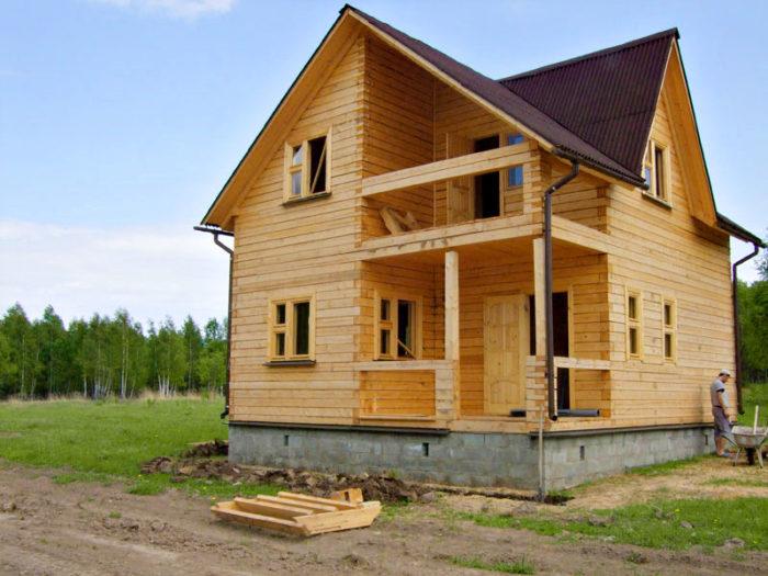 В чем преимущества домов из бруса? - фото