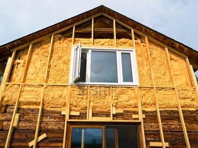 Как снаружи утеплить деревянный дом? фото
