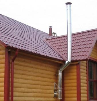 Стоит ли выбрать стальной дымоход для частного дома? фото