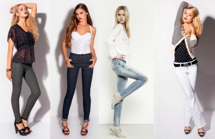 Как носить блузку с джинсами? фото