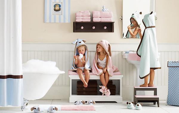 Как быстро сделать из обыкновенной ванной детскую? фото