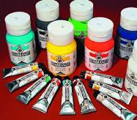 Как красить полимерную глину? фото