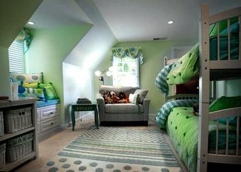 Как расположить двоих детей в одной комнате? фото