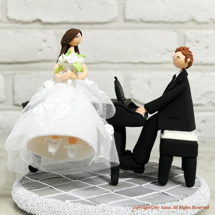 Какие выбрать фигурки на свадебный торт? фото