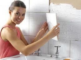 Как клеить плитку в ванной? фото