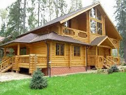 Чем хороши дома из оцилиндрованного бревна? фото