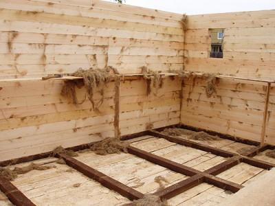 Как сохранить тепло в деревянном доме? - фото