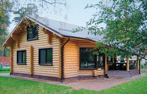 На какой фундамент ставить деревянный дом? фото