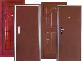 Из чего состоят металлические двери? фото