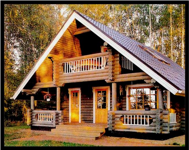 Как защитить деревянный дом от негативных факторов? - фото