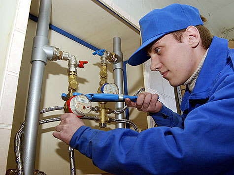 Небольшие хитрости при установке счетчиков воды и радиаторов отопления фото