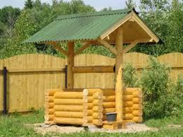 Зачем нужен домик для колодца? фото