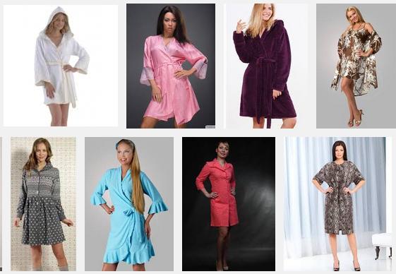 Как выбрать стильный женский халат? фото