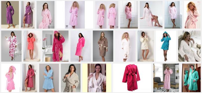 Как выбирать женский махровый халат? фото
