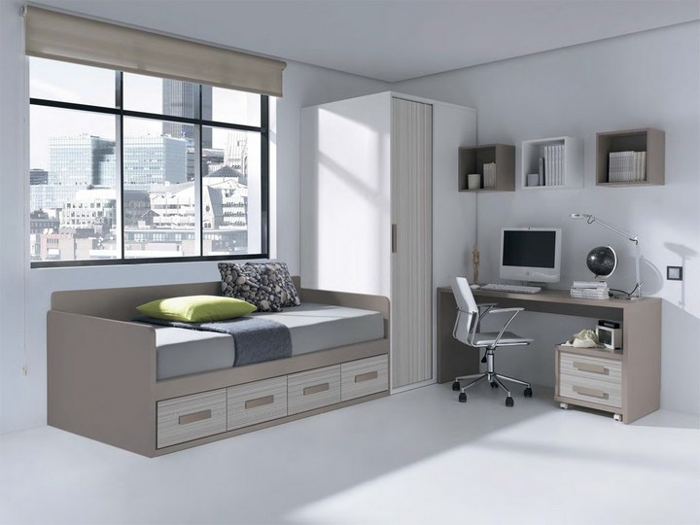 Какую купить кровать в комнату подростка? фото