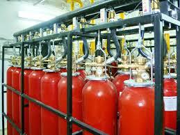Как работает газовое пожаротушение? фото