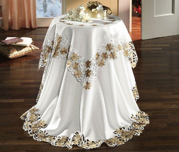 Сервировка стола: как выбрать скатерть? фото