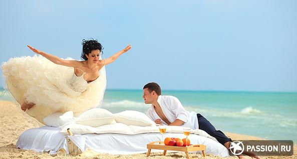 Какие самые оригинальные способы бракосочетания? фото