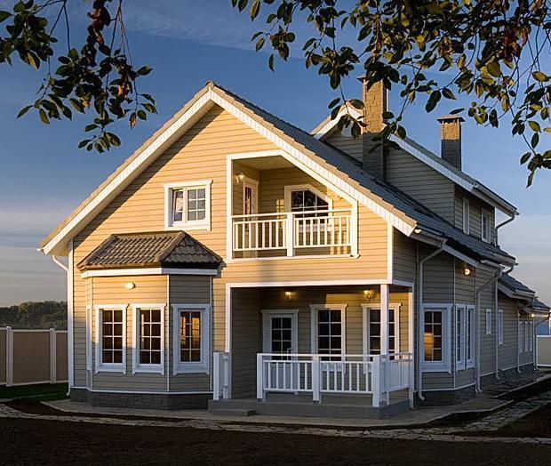 Каркасные дома под ключ из Пестово фото