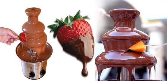 Как работает шоколадный фонтан? фото