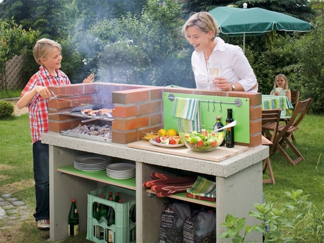 Как организовать барбекю на свежем воздухе? фото