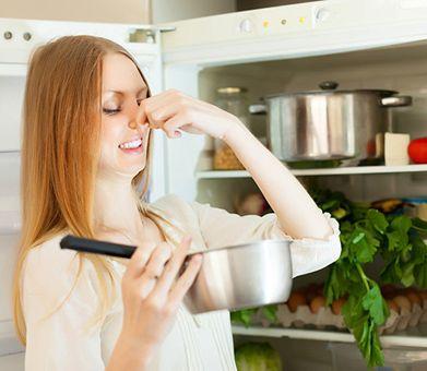 Как устранить запах в холодильнике? фото