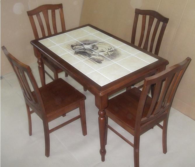 Почему стоит выбрать кухонный стол с плиткой? фото