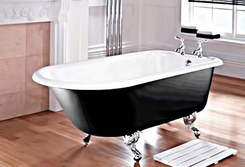 Какую ванну выбрать чугунную или акриловую?  фото