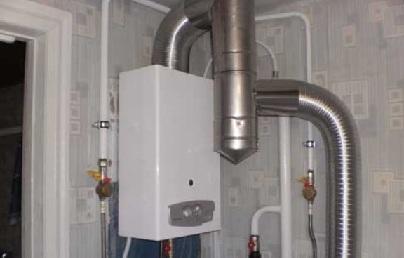 Как сделать отопление в загородном доме на газу? - фото