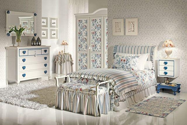 Как обустроить спальню в стиле Прованс? - фото