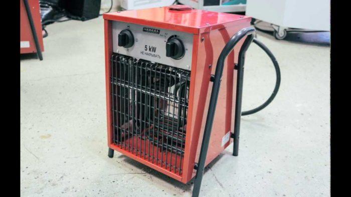 Как выбрать тепловентилятор для гаража? фото