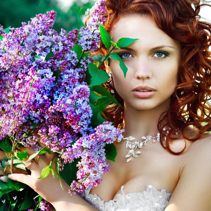Какие цветы подарить девушке водолею? фото