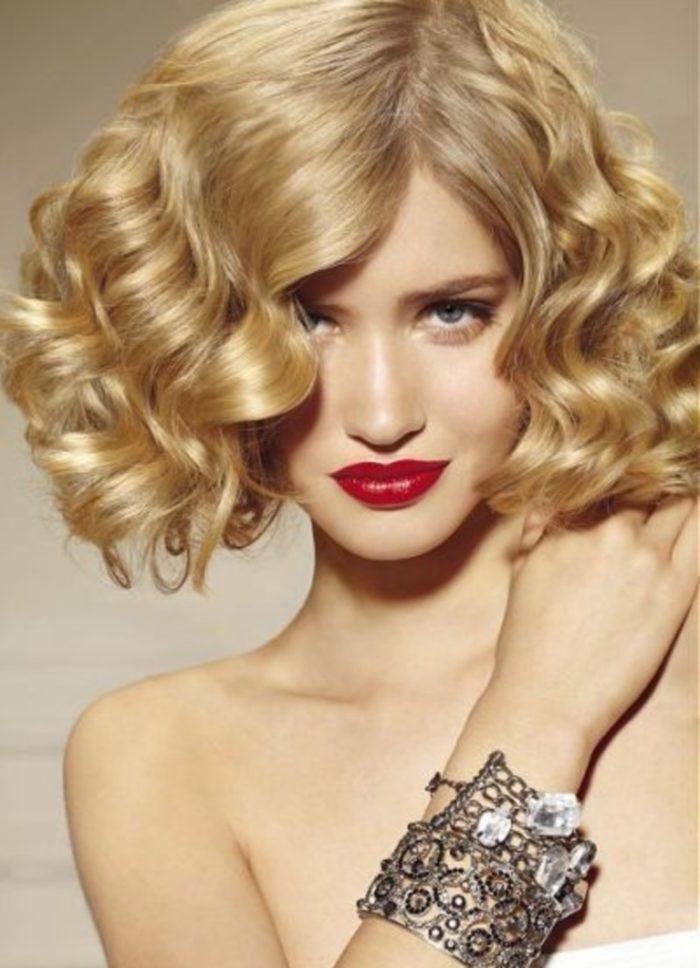 Прически для коротких волос локоны фото