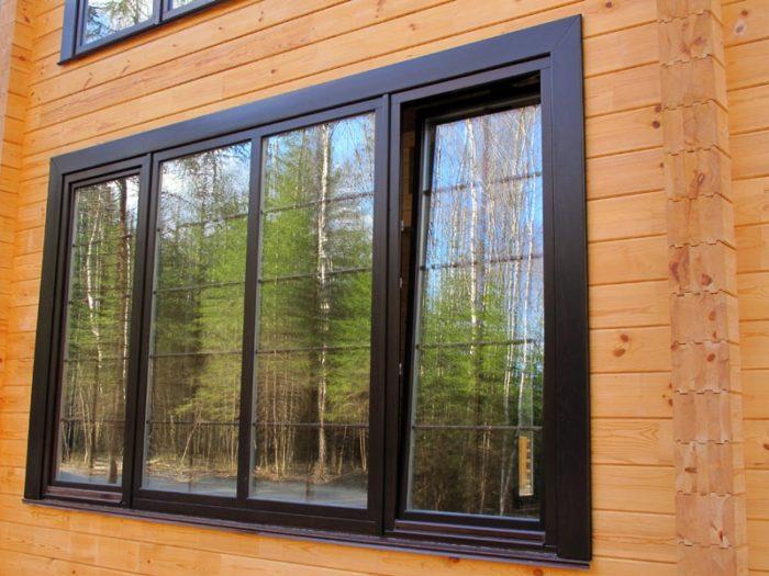 Чем отличаются алюминиевые окна от металлопластиковых?  фото