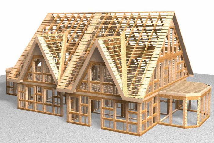 Чем отличается каркасный дом от дома из СИП панелей? фото
