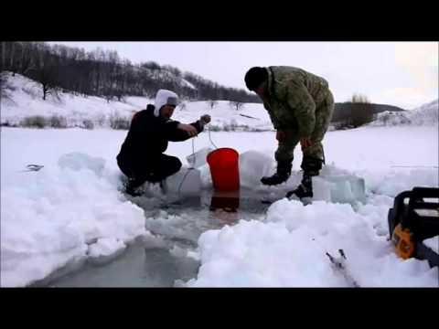 Как ставить рыболовные сети зимой? фото