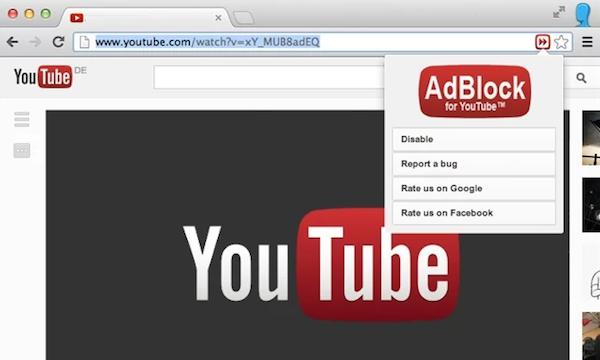 Как удалить рекламу с YouTube? фото