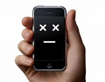 Почему iPone не включается? фото